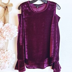 4 for 25 Festive Cold Shoulder Top  Size Small